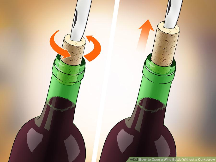ワイン の コルク の 抜き 方