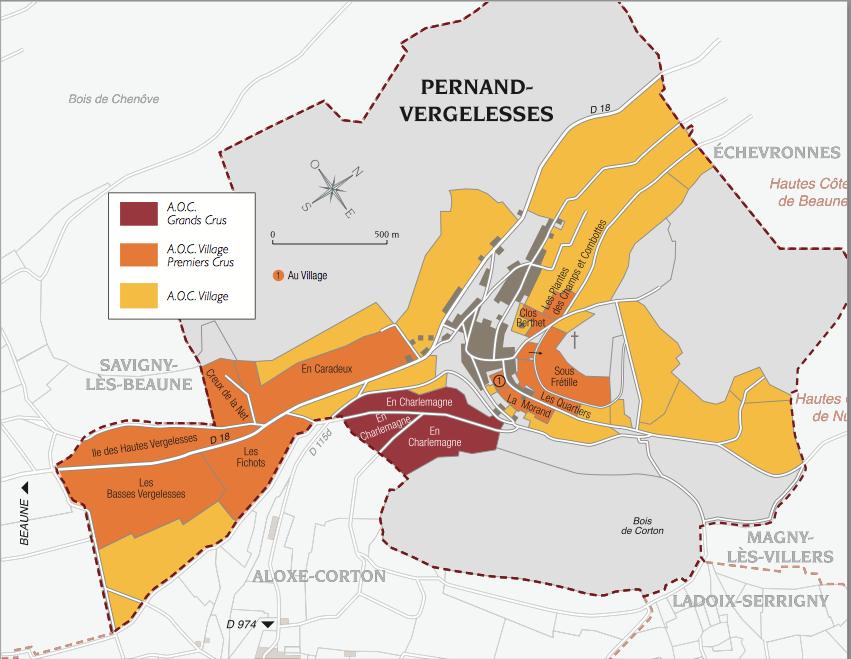 Pernand-Vergelesses / ペルナン...